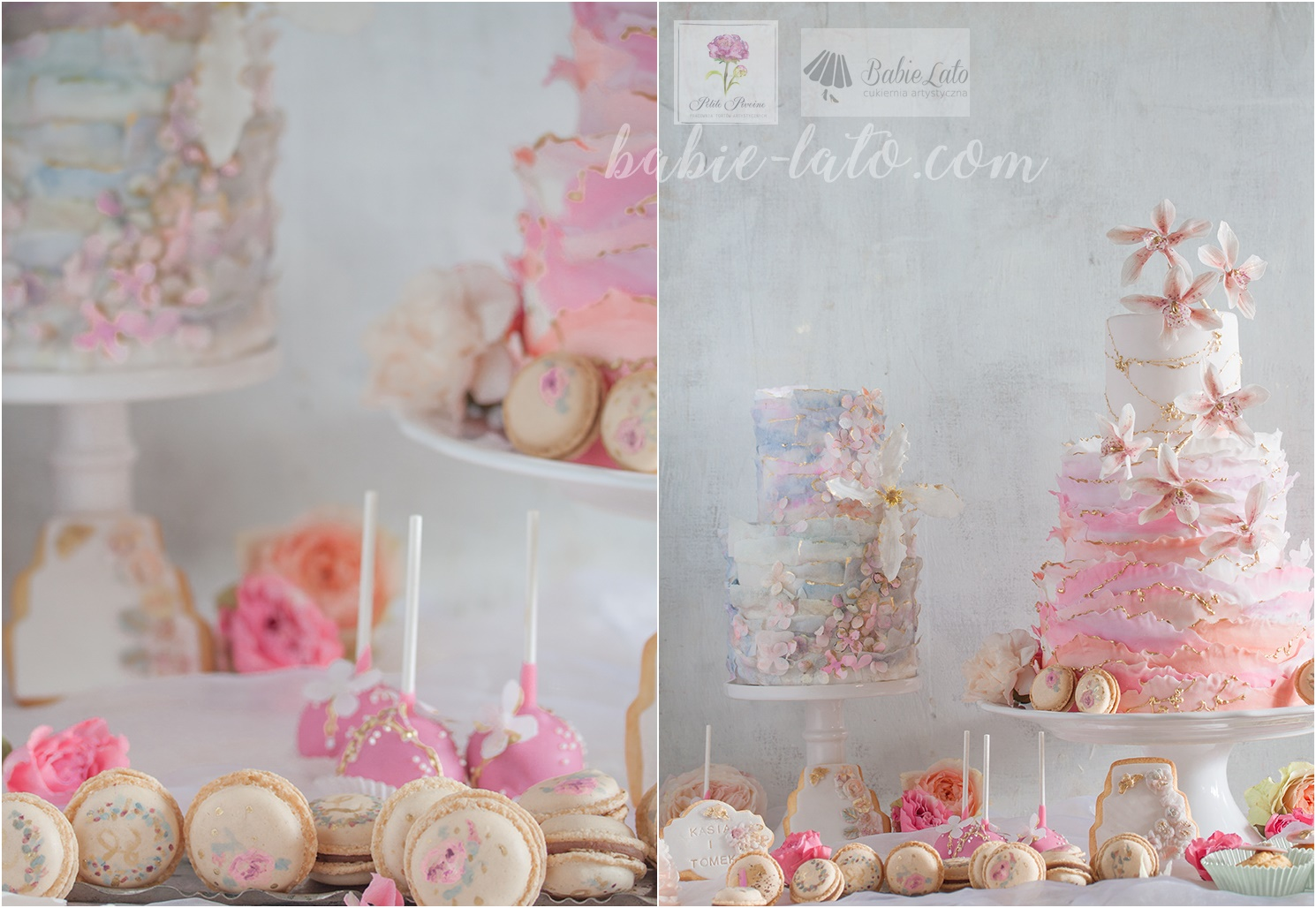 Torty i ciasteczka różowe