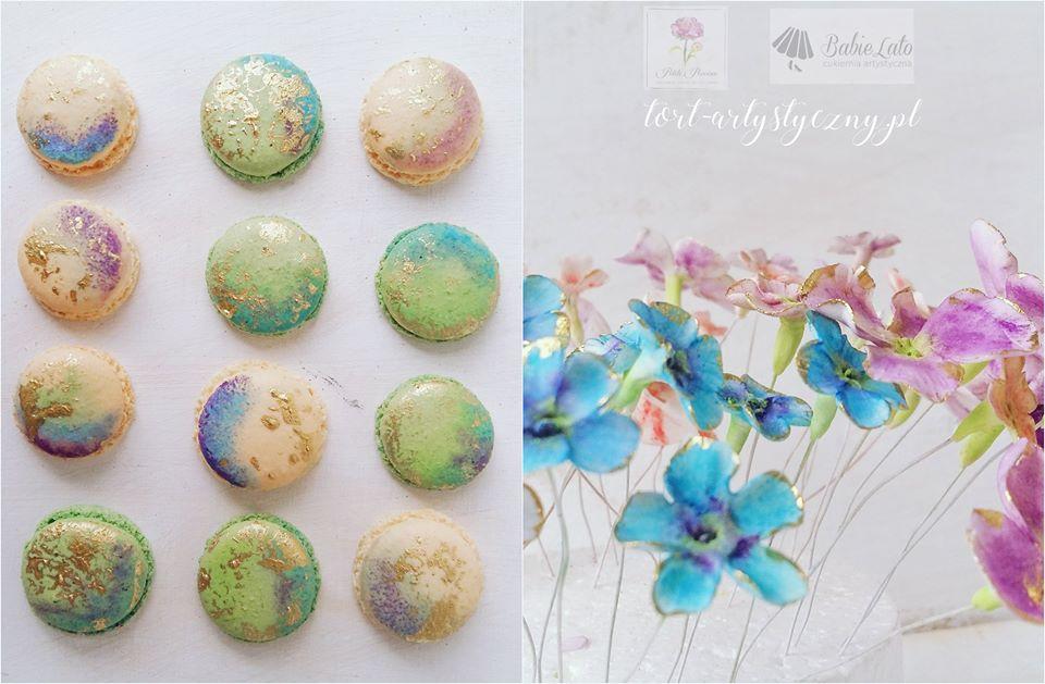 Kolorowe makaroniki
