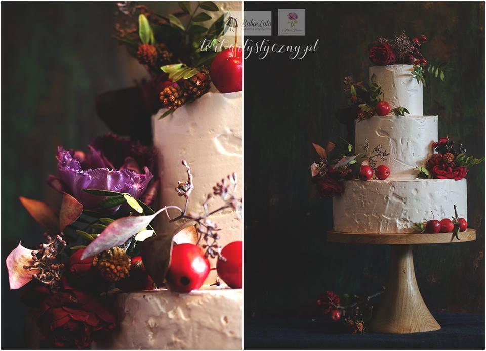 pani jesień - tort weselny na zamówienie,